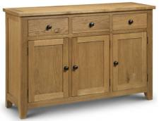 Julian Bowen - Astoria Oak Sideboard