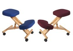 Teknik Office - Wooden Kneeling Chair - Set of 2