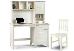 Julian Bowen - Cameo Desk & Hutch with Cameo Chair - Package