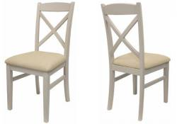 Statement Furniture - Florence Cross Back Upholstered Chair