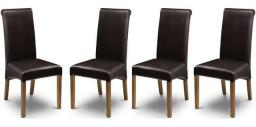Julian Bowen - Cuba Dining Chairs - Set of 6