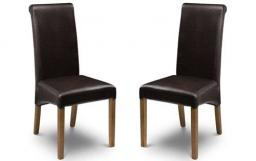 Julian Bowen - Cuba Dining Chairs - Set of 2