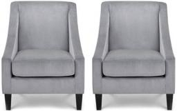 Julian Bowen - Maison Velvet Chair - Set of 2