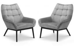 Julian Bowen - Lucerne Accent Chair - Set of 2