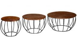 Vida Living - Durango Coffee Tables - 3 Per Set