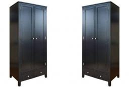 Statement Furniture - Brooklyn Large Double Wardrobe