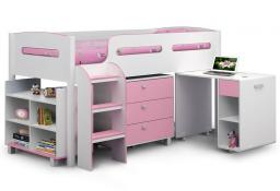 Julian Bowen - Kimbo Bunk Bed with Mattress - Package