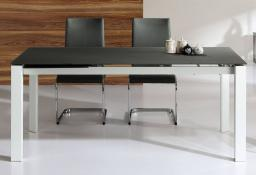 Vida Living - Mobo Medium Extending Glass Dining Table
