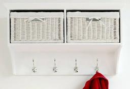 Statement Furniture - Tetbury Large White Hanging Shelf