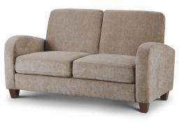 Julian Bowen - Vivo Mink Fabric Sofa Bed