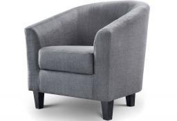 Julian Bowen - Hugo Fabric Tub Chair