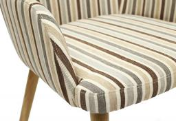 Shankar - Sidcup Stripe Dining Chairs - Set of 2