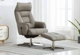 GFA - Auckland Rocker Swivel Recliner & Footstool