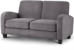 Julian Bowen - Vivo Grey Fabric Sofa Bed