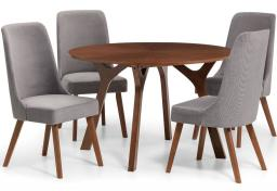 Julian Bowen - Huxley Dining Table with Huxley Dining Chairs