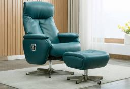 GFA - Santorini Swivel Recliner & Footstool
