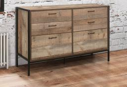 Birlea Furniture - Urban 6 Drawer Wide Chest
