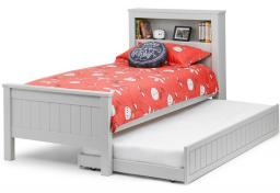 Julian Bowen - Maine Bookcase Bed & Underbed with Mattresses - Package