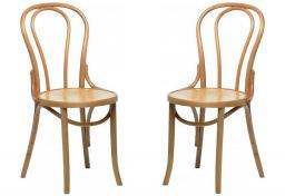 Sofa & Home - Boulevard Bentwood Chairs - Set of 2