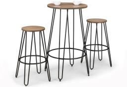 Julian Bowen - Dalston Bar Table Dining Set