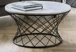 Julian Bowen - Trevi Marble Coffee Table