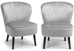 Julian Bowen - Coco Accent Chairs - Set of 2