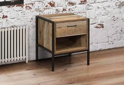 Birlea Furniture - Urban 1 Drawer Bedsides - Set of 2