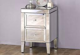 Birlea Furniture - Valencia Mirrored 2 Drawer Bedsides - Set of 2