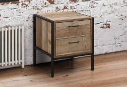 Birlea Furniture - Urban 2 Drawer Bedsides - Set of 2