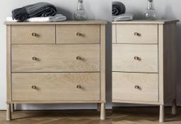 Gallery Direct - Wycombe Oak 4 Drawer Chest
