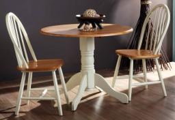 Vida Living - Brecon Folding Dining Table & 2 Windsor Dining Chairs