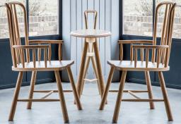 Gallery Direct - Wycombe Oak Carver Dining Chairs - Set of 2