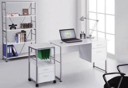 Alphason - Cabrini White Desk