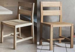 Gallery Direct - Kielder Oak Dining Chairs - Set of 2