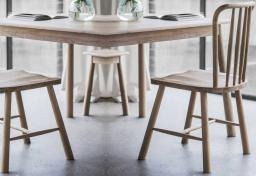 Gallery Direct - Wycombe Oak Dining Chairs - Set of 2