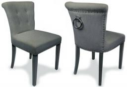 Shankar - Sandringham Linen Fabric Accent Chair - Set of 2