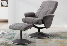 GFA - Verona Swivel Recliner & Footstool