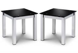 Julian Bowen - Tempo Lamp Tables - Set of 2