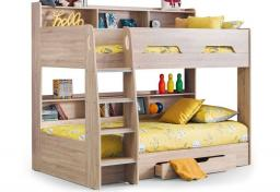 Julian Bowen - Orion Sonoma Oak Bunk Bed