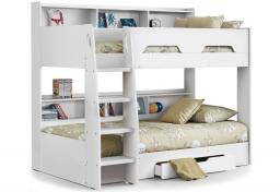 Julian Bowen - Orion White Bunk Bed