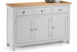 Julian Bowen - Richmond Grey Sideboard