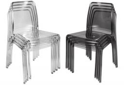 Teknik Office - Clarity Chairs - Set of 4