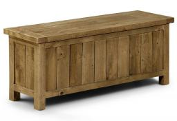 Julian Bowen - Aspen Reclaimed Pine Storage Bench