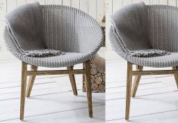 Gallery Direct - Lloyd Loom Tub Chair - Set of 2