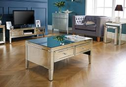 Birlea Furniture - Valencia Mirrored Coffee Table