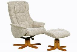 GFA - Shangri-La Swivel Recliner & Footstool