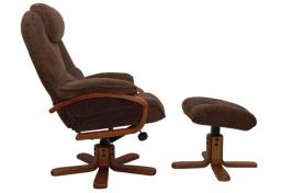 GFA - Hong Kong Swivel Recliner & Footstool