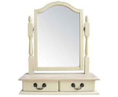 Statement Furniture - Juliette Champagne Dressing Table Product Image