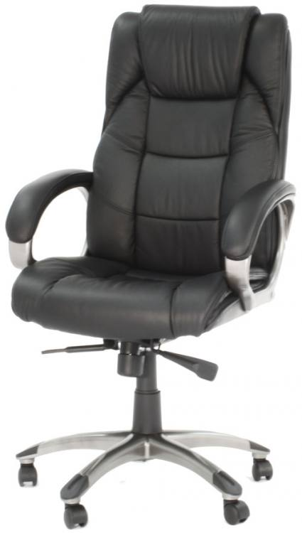 leather home office chair alphason northland leather executive office chair 16641 | 425x750 1317732948Black