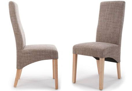 Shankar - Baxter Tweed Fabric Dining Chair Product Image